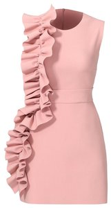 MSGM short dress Pink Ruffle Short on Tradesy