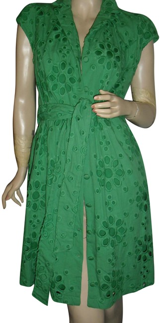 Preload https://img-static.tradesy.com/item/23746030/inc-international-concepts-emerald-green-embroidered-fully-shirtdress-short-casual-dress-size-10-m-0-1-650-650.jpg