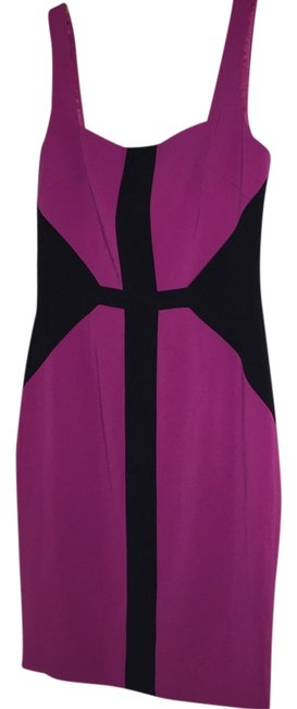 Preload https://item1.tradesy.com/images/jay-godfrey-pinkblack-color-sheath-above-knee-workoffice-dress-size-6-s-2374630-0-0.jpg?width=400&height=650