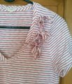 J.Crew T Shirt white with red stripes Image 3
