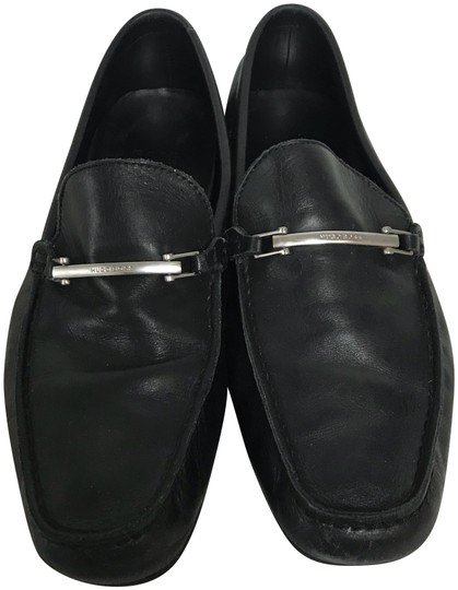 Preload https://img-static.tradesy.com/item/23746372/boss-by-hugo-boss-black-leather-men-s-loafers-uk-7-flats-size-us-8-regular-m-b-0-2-540-540.jpg