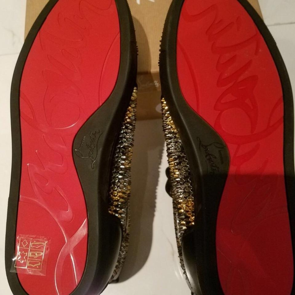 with Sneakers Christian Spikes Louboutin Multicolor Sporty gEE1Oq