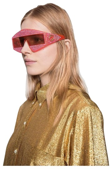 Preload https://img-static.tradesy.com/item/23746709/gucci-pink-new-gg0357s-002-acetate-crystals-sunglasses-0-1-540-540.jpg