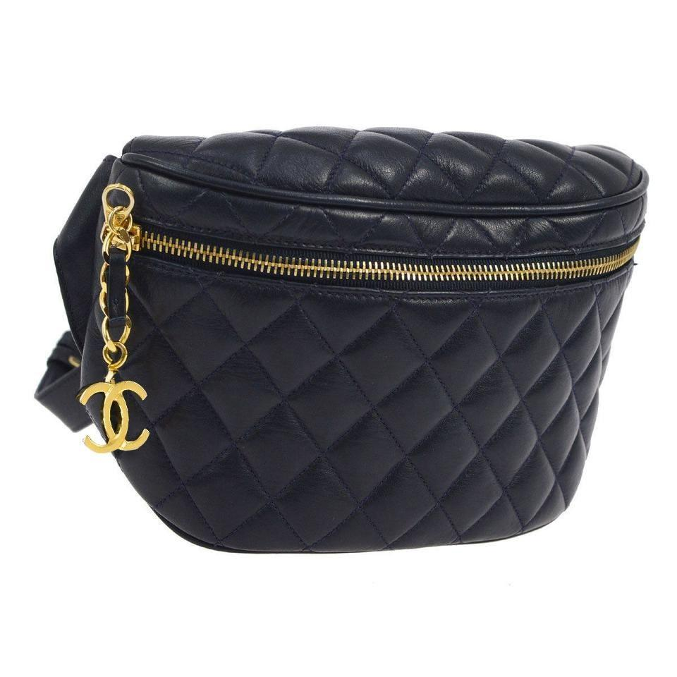 462ad2d34 Chanel Fanny Pack Rare Vintage Kendall Jenner Cross Body Bag Image 0 ...