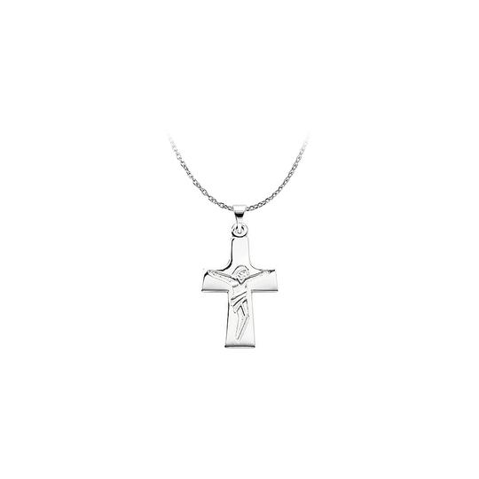 Preload https://img-static.tradesy.com/item/23746897/white-sterling-silver-engraved-lord-jesus-crucifix-pendant-necklace-0-0-540-540.jpg