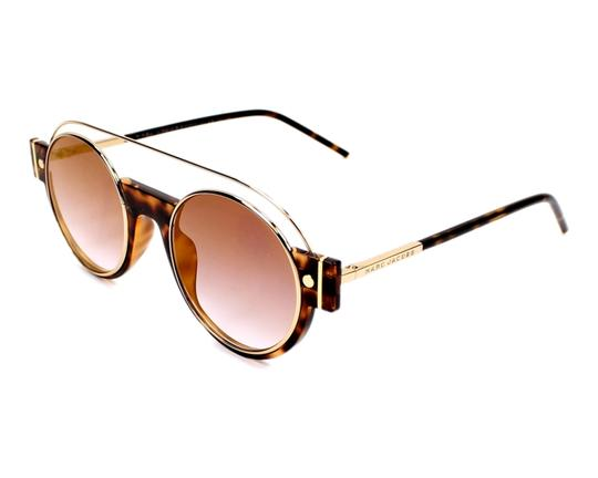 Preload https://img-static.tradesy.com/item/23747000/marc-jacobs-brown-new-2s-gold-metal-round-frame-sunglasses-0-0-540-540.jpg