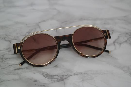 Marc Jacobs NEW Marc Jacobs 2/S Gold Metal Round Frame Sunglasses