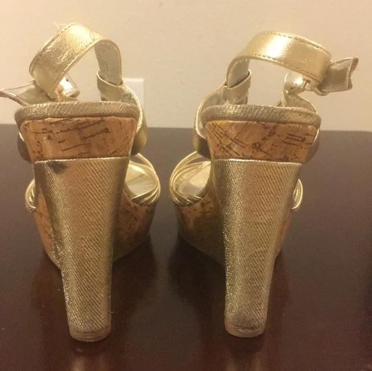 Charles by Charles David Gold Wedges