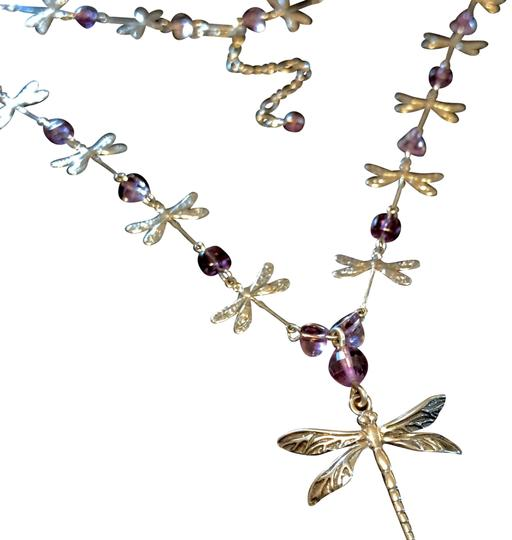 Preload https://img-static.tradesy.com/item/23747180/sterling-silver-and-amethyst-solid-dragonfly-genuine-necklace-0-3-540-540.jpg
