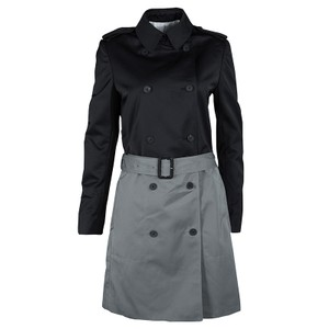 Joseph Belted Polyester Cotton Viscose Trench Coat