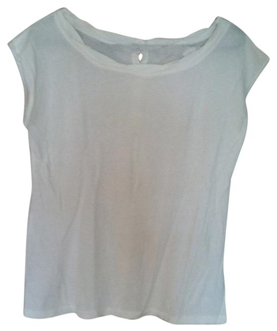 Preload https://item4.tradesy.com/images/jcrew-ivory-brass-buttons-down-back-tee-shirt-size-6-s-2374723-0-0.jpg?width=400&height=650