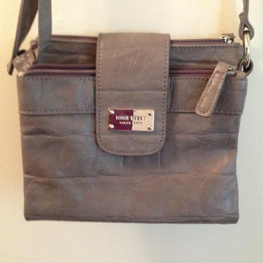 Nine West Lavander Clutch Several Compartment Cute Cross Body Bag