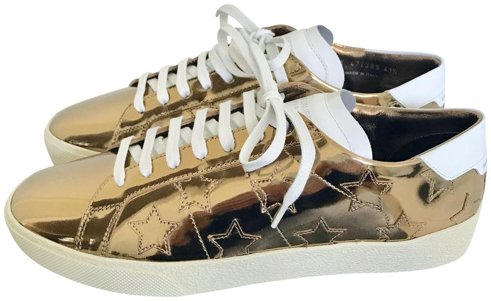 6e017cbdcecd Saint Laurent Gold Signature Court Classic Sl 06 Sneakers Sneakers ...