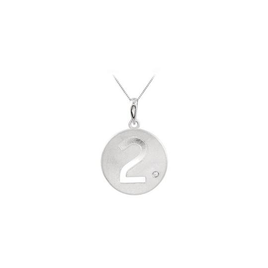 Preload https://img-static.tradesy.com/item/23747771/white-number-2-engrave-disc-pendant-in-925-sterling-silver-with-single-cz-tr-necklace-0-0-540-540.jpg