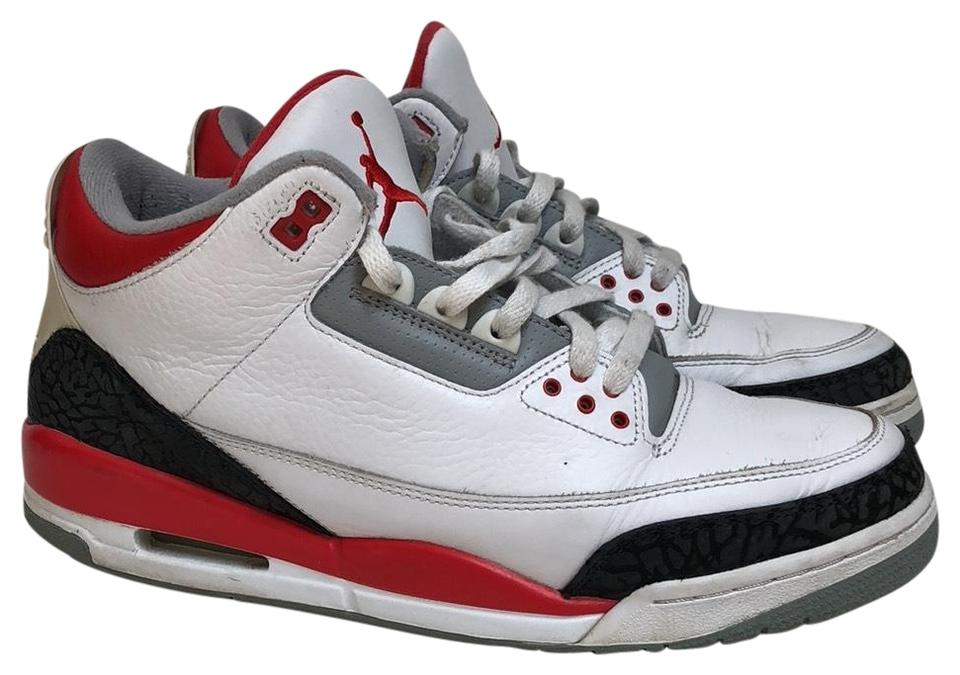 Air Black Jordan Fire Red White Cement Black Air 3 Retro (2007) Sneakers 54f0f2