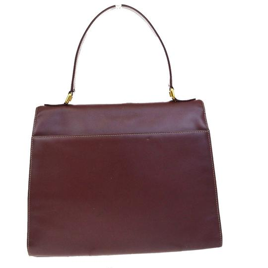 Cartier Made In France Tote in Bordeaux Image 2