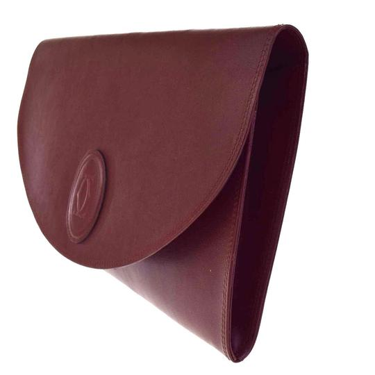 Cartier Made In Italy Bordeaux Clutch