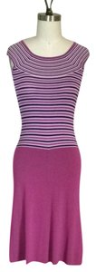 Isabella Bird short dress Purple on Tradesy