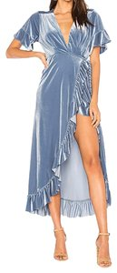 blue Maxi Dress by MISA Los Angeles