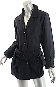 RODIER Water Resistant Belted Black Jacket