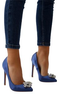 Public Desire Blue Pumps