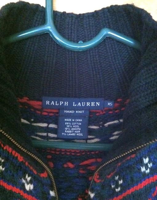Ralph Lauren Hand Knit Zipper Sweater