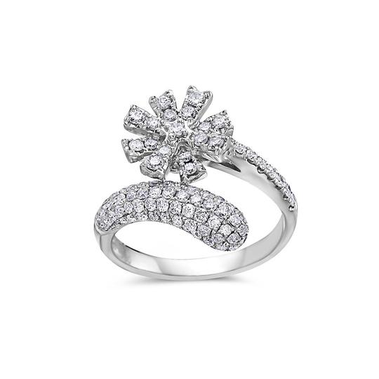 Preload https://img-static.tradesy.com/item/23748872/ladies-18k-white-gold-with-111-ct-right-hand-ring-0-0-540-540.jpg