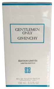 Givenchy Givenchy Gentlemen Only EDT FRAICHE LIMITED EDITION 3.3 Oz, 100 ml NEW