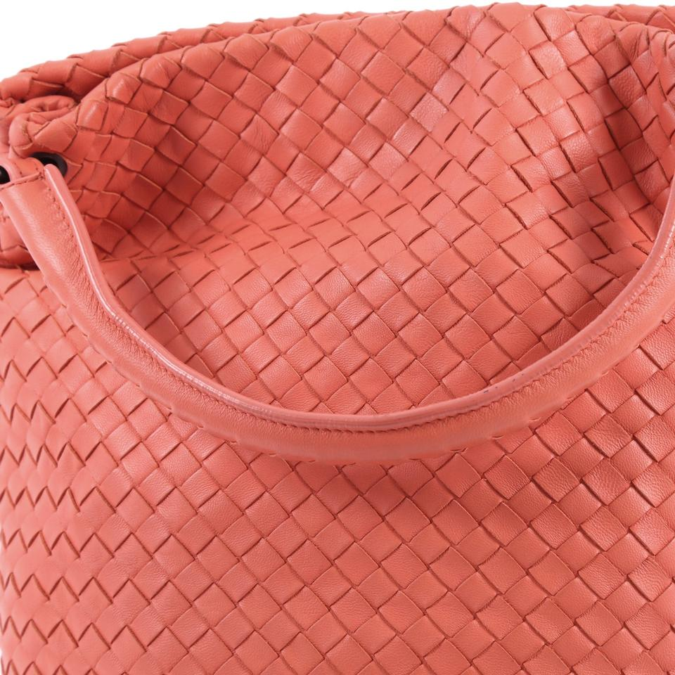 Pink Bucket Veneta Intrecciato Leather Bottega Bag Small Hobo Nappa 5gXqBxWwnZ