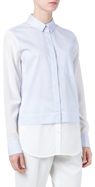 Vince Top white blue Image 0