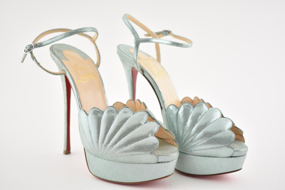 Sandal Strap Blue Louboutin Heel Alta Platform Botticella Ankle Pumps 150 Everest Christian anv0zn