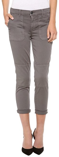 Item - Grey Military Rolled Slate Pants Size 8 (M, 29, 30)