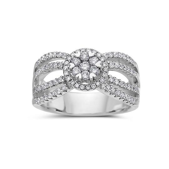 Preload https://img-static.tradesy.com/item/23749732/ladies-14k-white-gold-with-081-ct-right-hand-ring-0-0-540-540.jpg