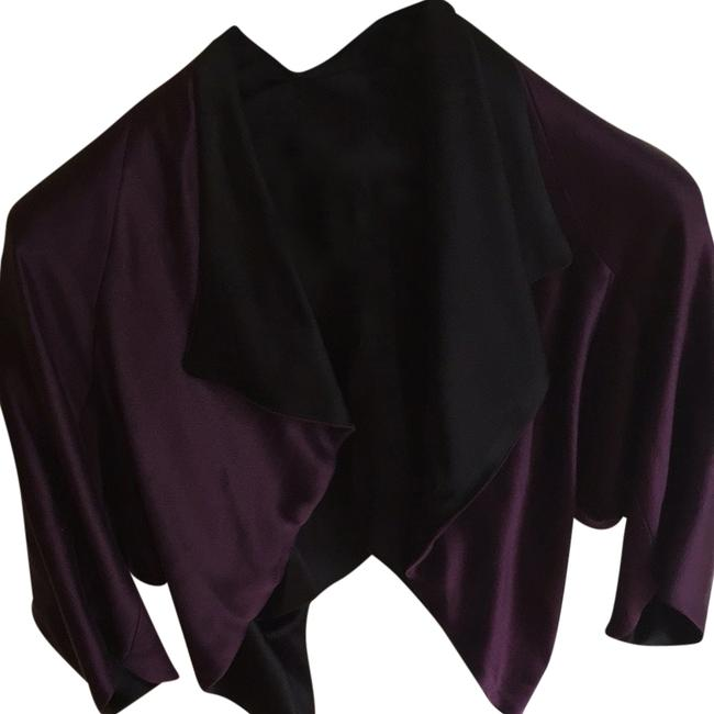 Aubergine Top Purple, Black