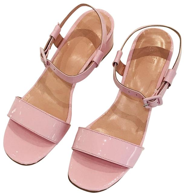 Item - Pink Sophie Patent Leather Sandals Size EU 37.5 (Approx. US 7.5) Regular (M, B)