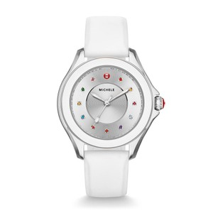 Michele Cape Sunray Dial White Mww27a000007 Watch