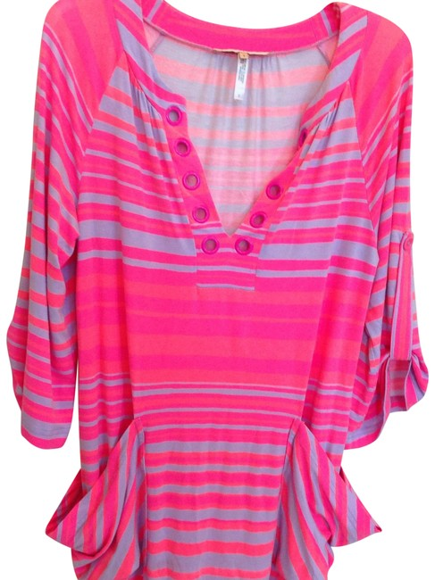 Item - Pink & Lavender Nl2z939 Cover-up/Sarong Size 6 (S)