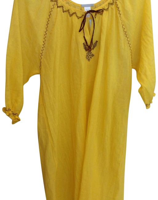 Item - Yellow Wc832t Cover-up/Sarong Size 12 (L)