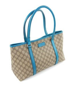 80302f958323 Gucci Carry All Brown Supreme Gg Monogram Canvas Leather Shoulder ...