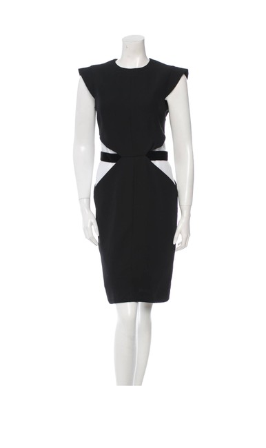 Preload https://img-static.tradesy.com/item/23751007/givenchy-black-and-white-giv32375-mid-length-cocktail-dress-size-14-l-0-0-650-650.jpg