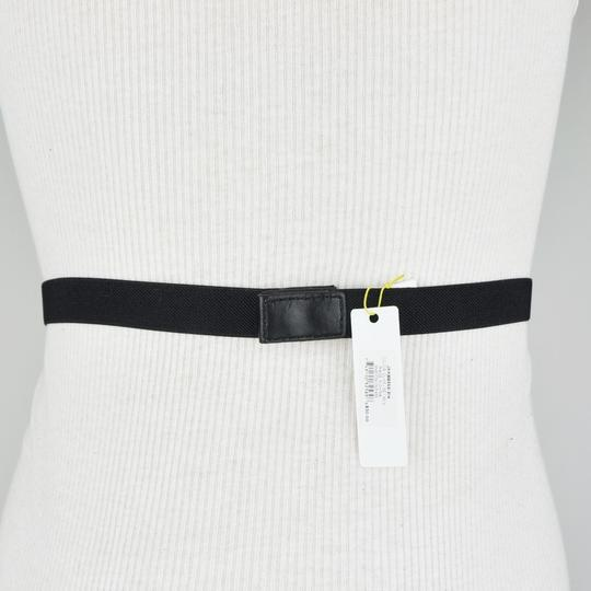 BCBGeneration Black Yellow Gem Stretch Belt Size S/M Image 1