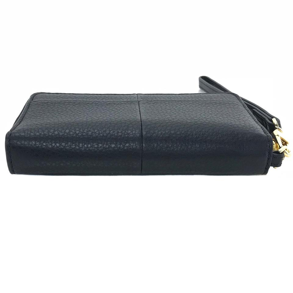 Smartphone Wristlet Ivy Leather Burch Tory Black Z7qnwEW8cW