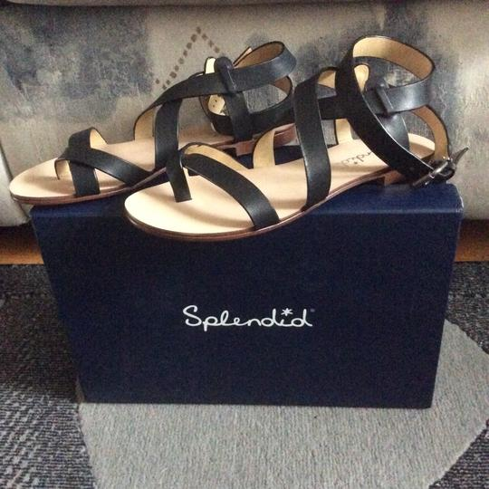 Splendid Black Sandals Image 1