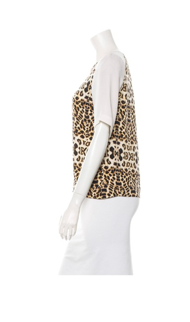 A.L.C. Top Camel, black and creme Image 1