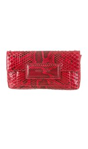 Sigerson Morrison Red Clutch