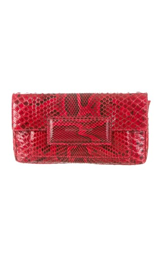 Preload https://img-static.tradesy.com/item/23751388/sigerson-morrison-wsg20123-red-snakeskin-leather-clutch-0-0-540-540.jpg
