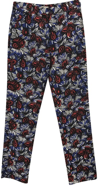 Preload https://img-static.tradesy.com/item/23751567/anthropologie-multicolor-whit-floral-print-trousers-size-2-xs-26-0-2-650-650.jpg