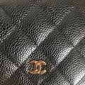 Chanel Leather Classicchanel Chanelflap Black Clutch Image 9