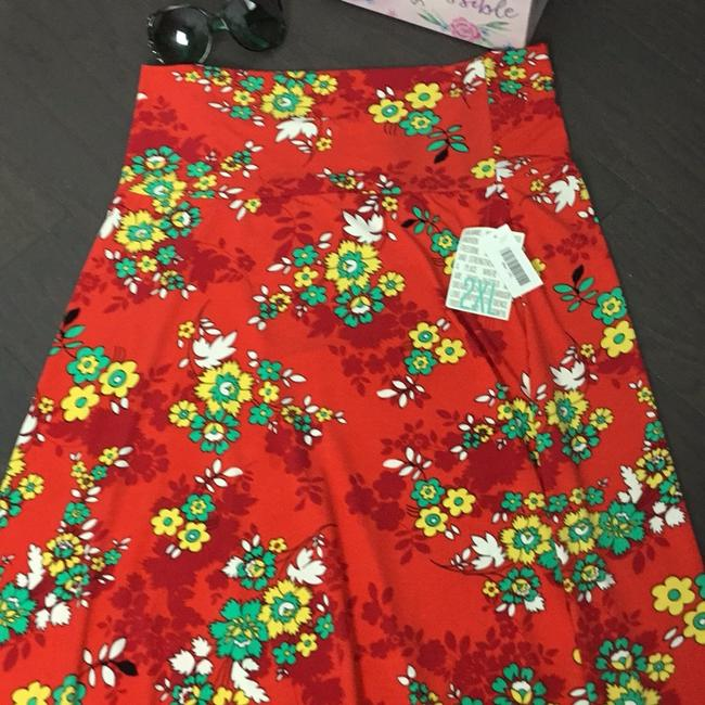 red Maxi Dress by LuLaRoe