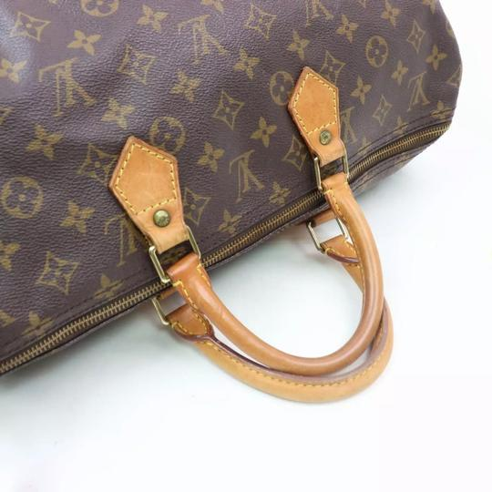 Louis Vuitton Satchel in monogram canvas